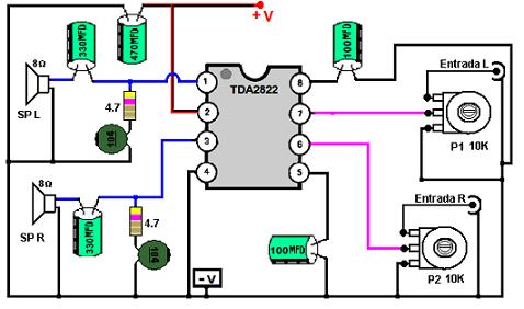 مجموعه مدارات الکترونیکی ساده - نسخهی قابل چاپ