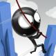 دانلود بازی پریدن از آسمان خراش اندروید Rope'n'Fly 4 v1.5