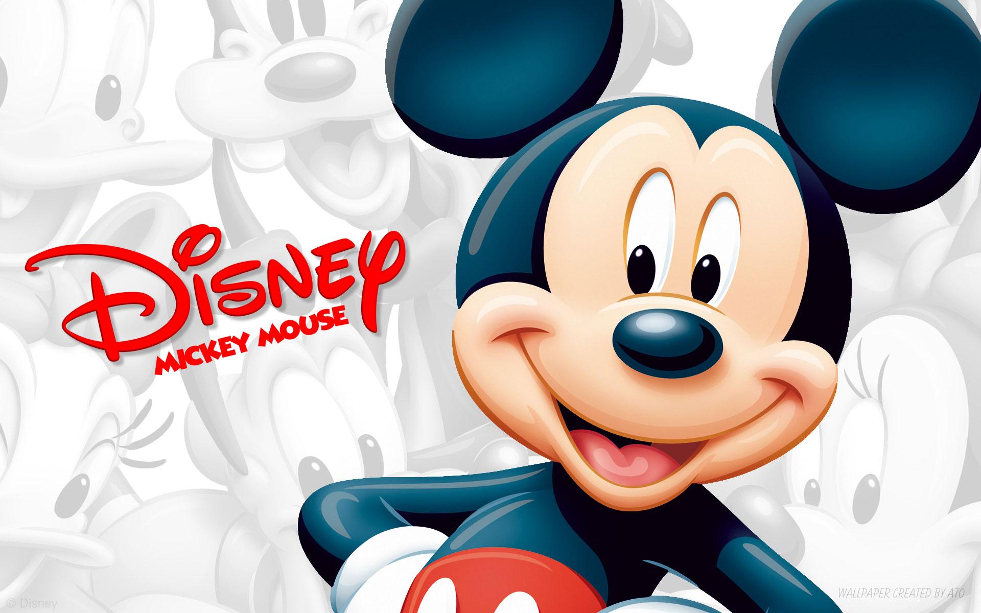 دانلود تم میکی موس برای لاین مسنجر Mickey theme