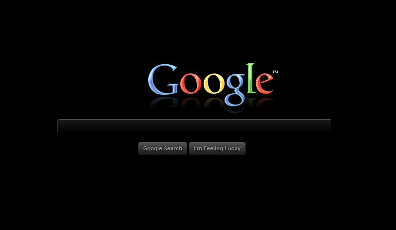 رنگ مشکی به گوگل میاد ؟
