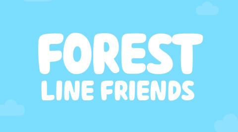 تم جدید مسنجر لاین Forest Friends