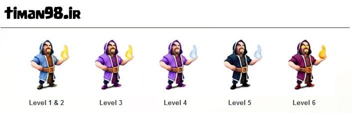 210834 جزئیات ارتقا جادوگر  | Wizard