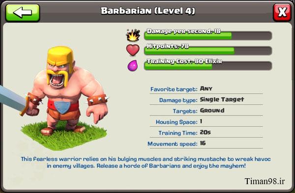 Barbarian Level 4