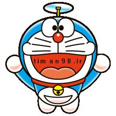 دانلود تم Doraemon برای مسنجر لاین