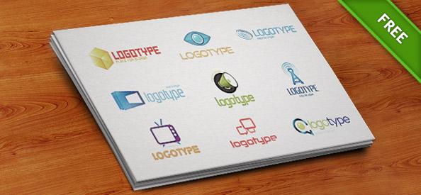 آموزش طراحی لوگو با فتوشاپدانلود 9 لوگوی آماده و رایگان (سری ششم)